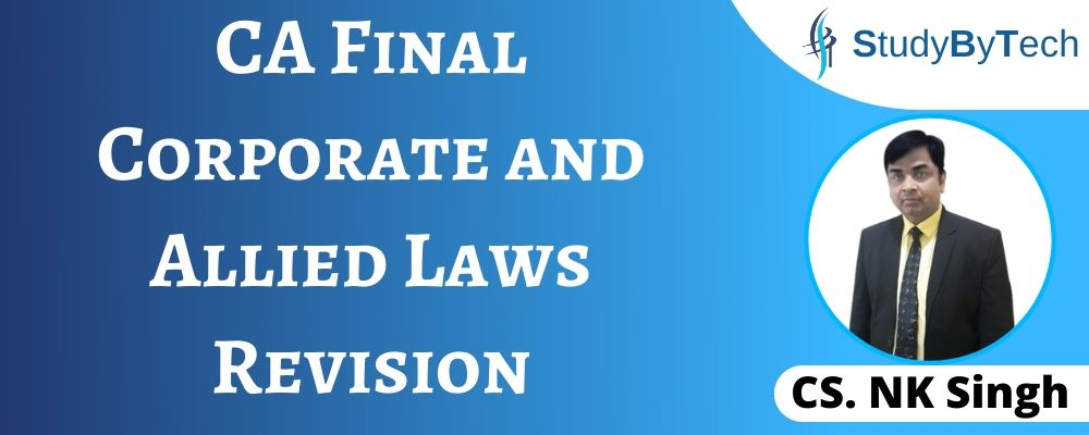 CA Final Corporate and Allied Laws Revision