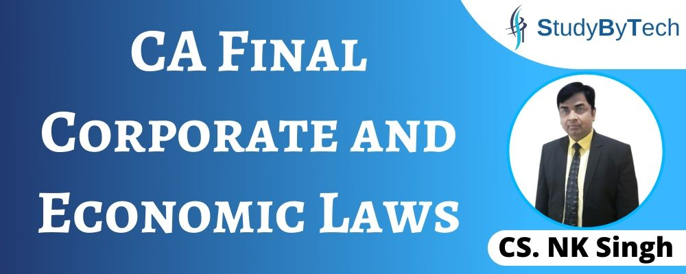 CA Final Corporate and Economic Laws