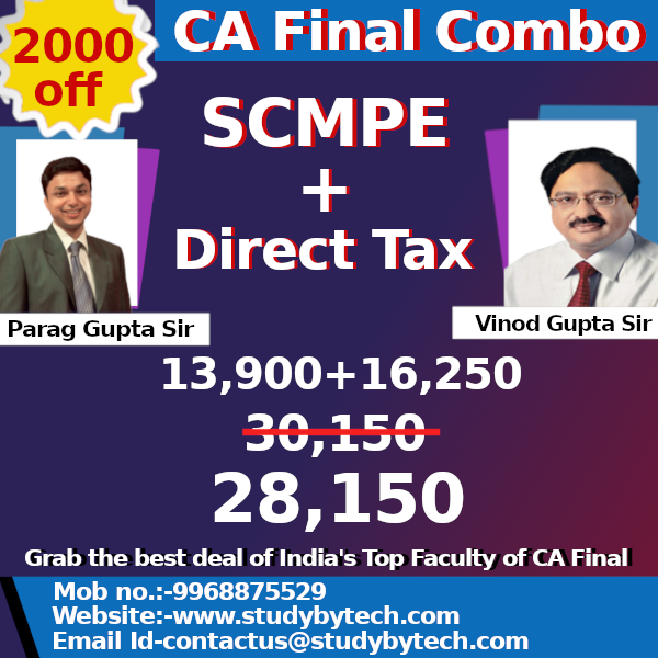 Costing & Direct Tax