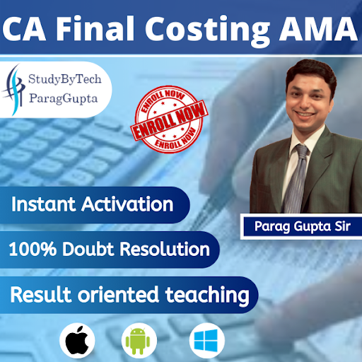 CA Final Costing New Course