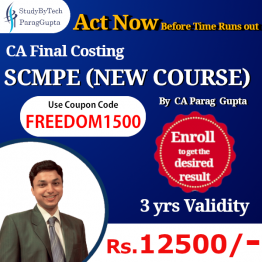 ca final costing independence day offer